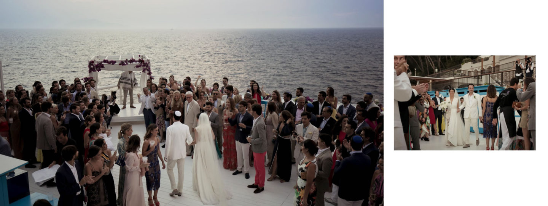 Jewish luxury wedding weekend in Capri :: Luxury wedding photography - 46