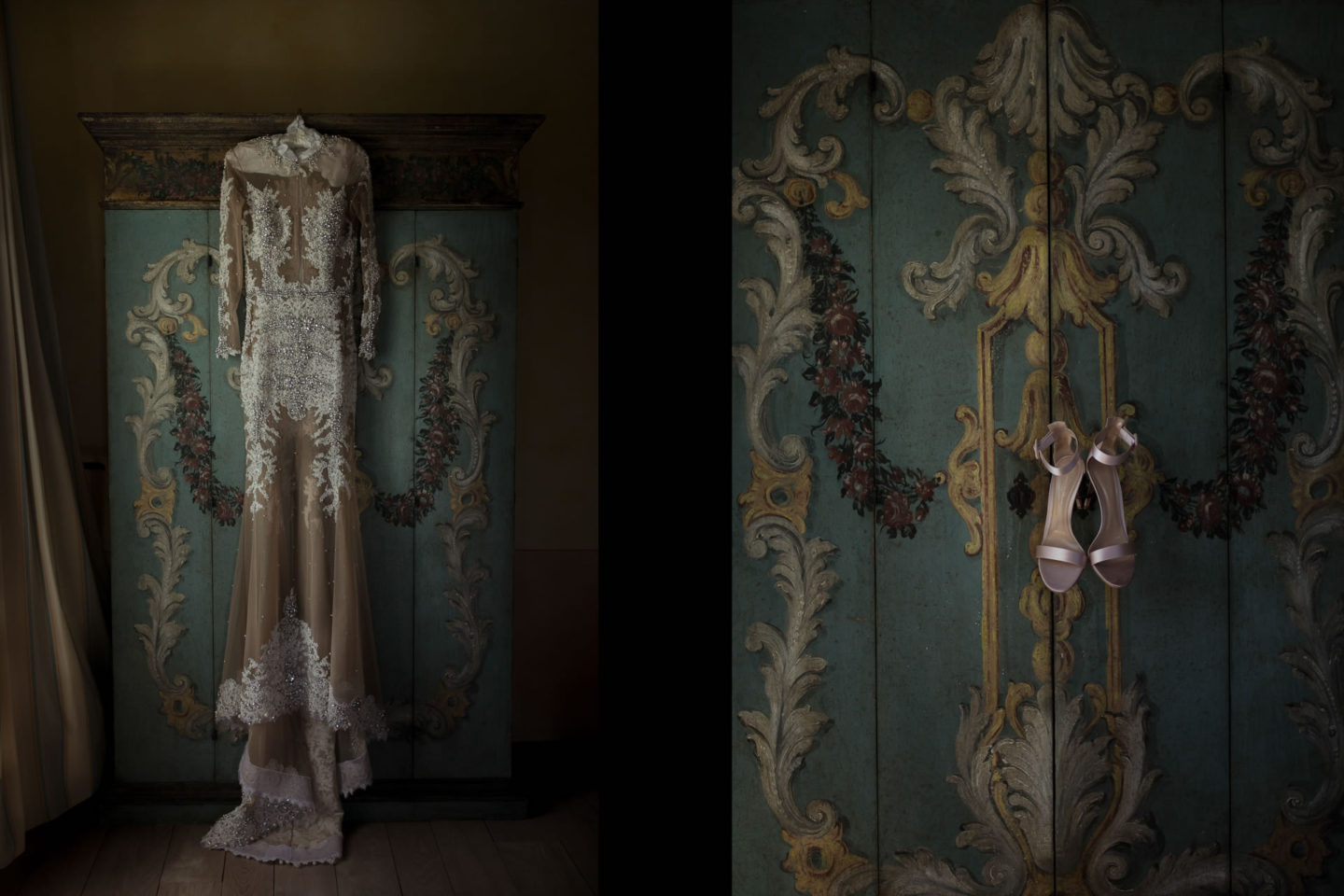 Dress :: Exciting wedding in the countryside of Siena :: Luxury wedding photography - 0 :: Dress