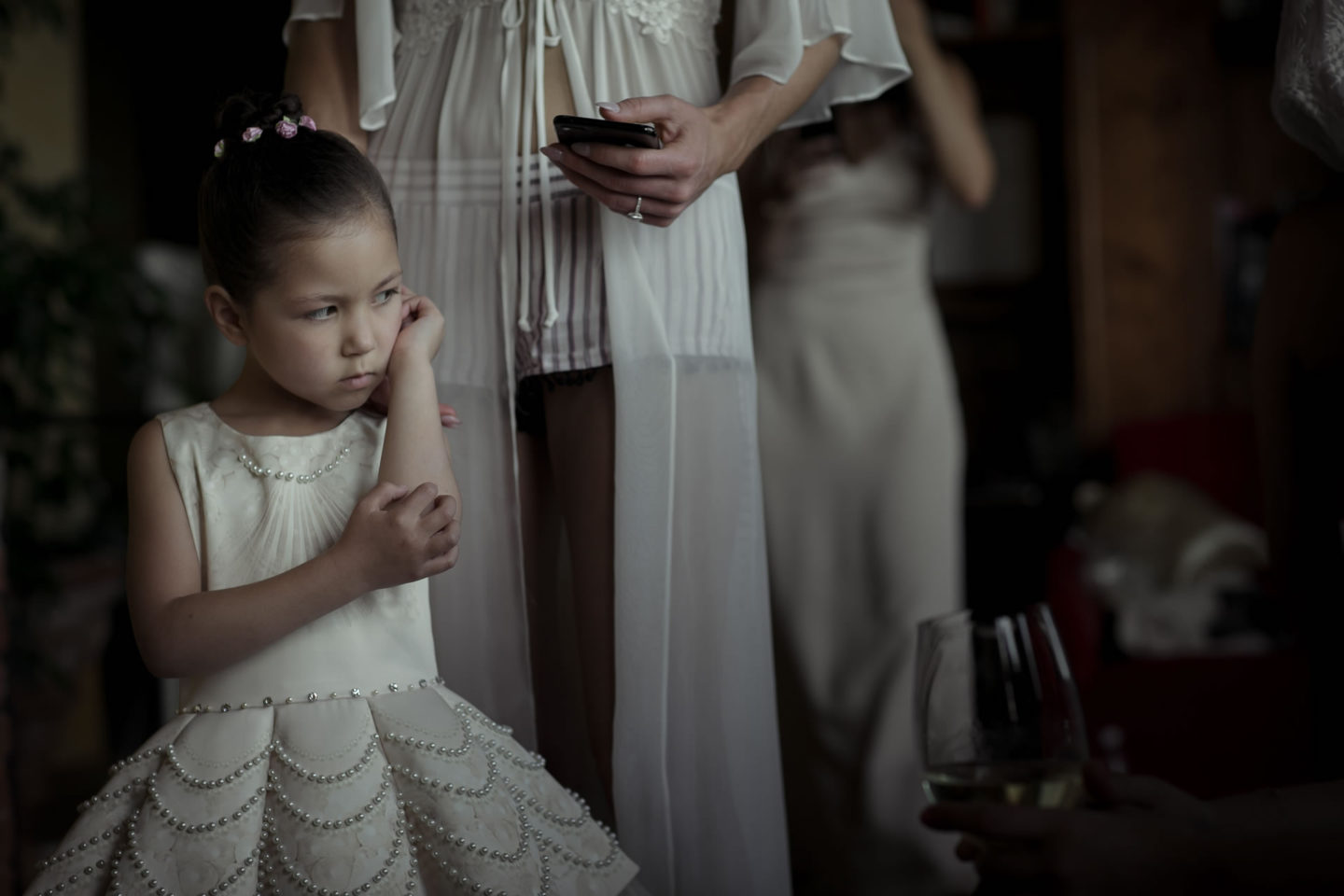 Child :: Exciting wedding in the countryside of Siena :: Luxury wedding photography - 5 :: Child