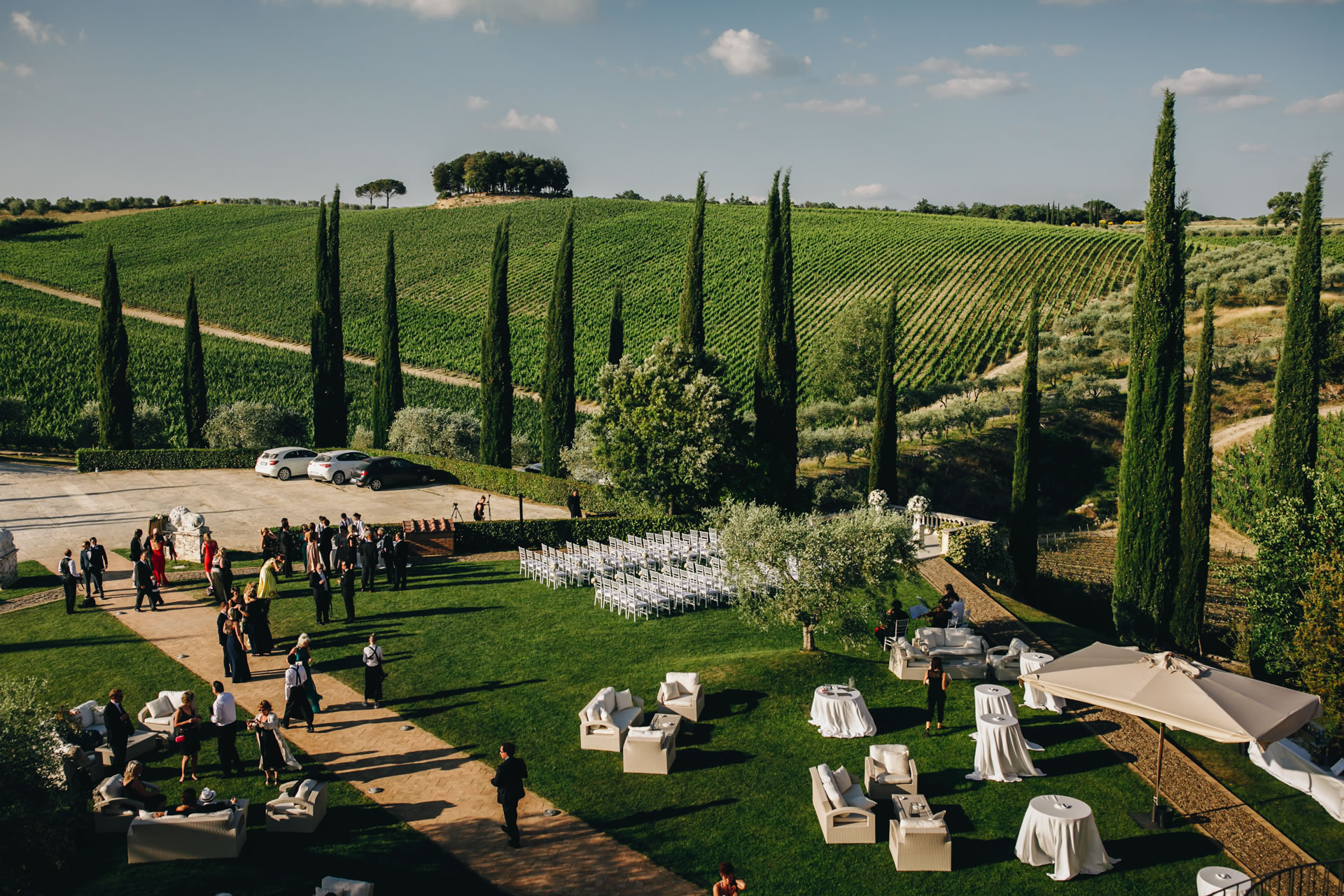 Garden - 30 :: Exciting wedding in the countryside of Siena :: Luxury wedding photography - 29 :: Garden - 30
