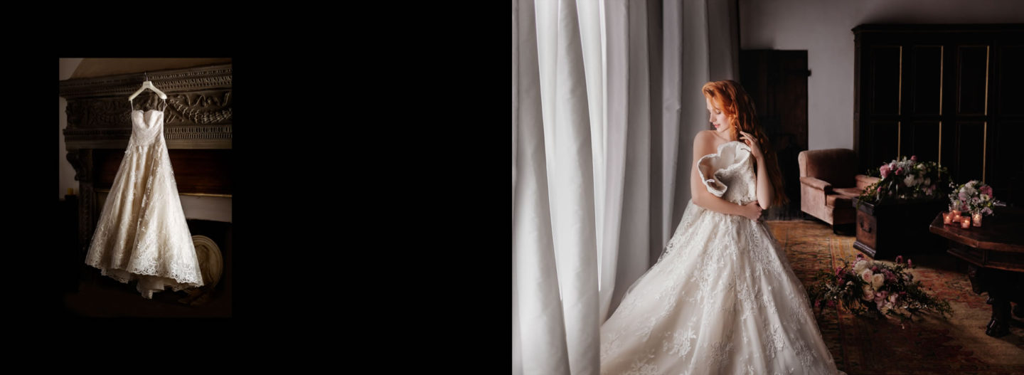 Dress :: Getting married in Tuscany at Vincigliata Castle :: Luxury wedding photography - 2 :: Dress