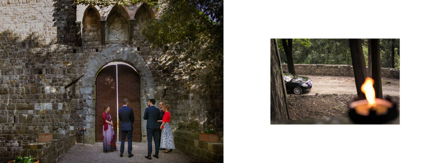 Waiting :: Getting married in Tuscany at Vincigliata Castle :: Luxury wedding photography - 5 :: Waiting