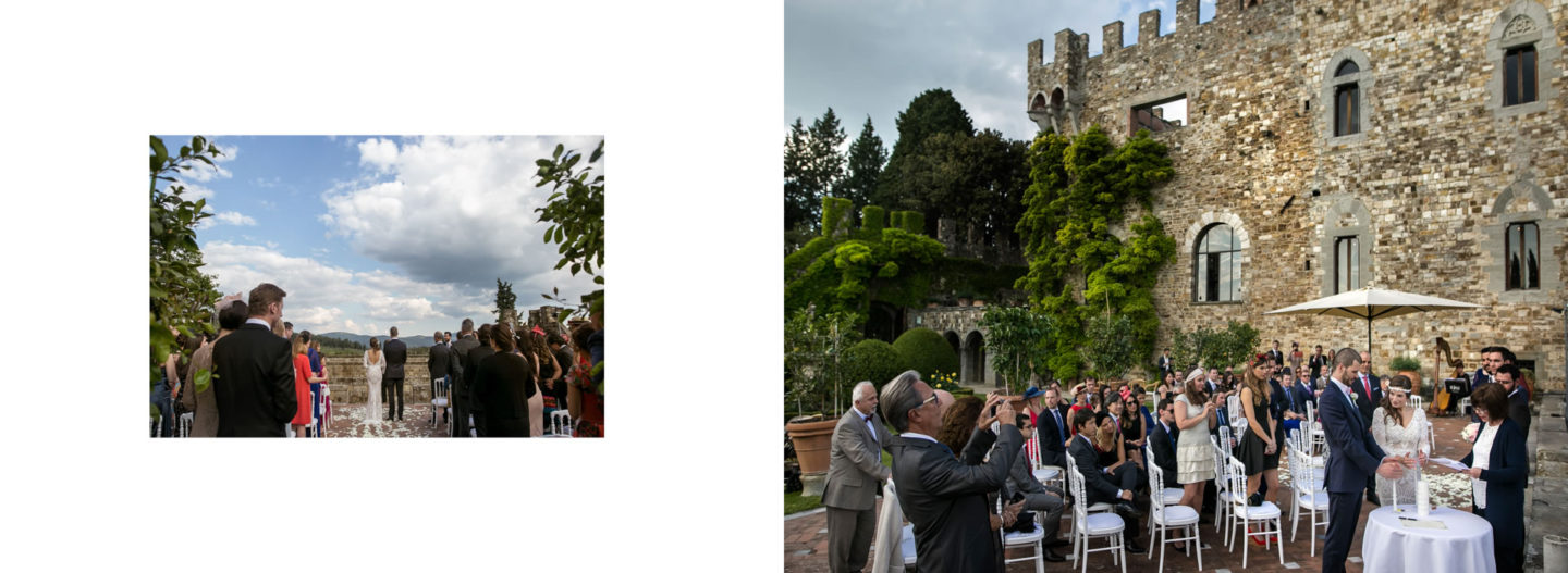 Cerimony :: Getting married in Tuscany at Vincigliata Castle :: Luxury wedding photography - 9 :: Cerimony