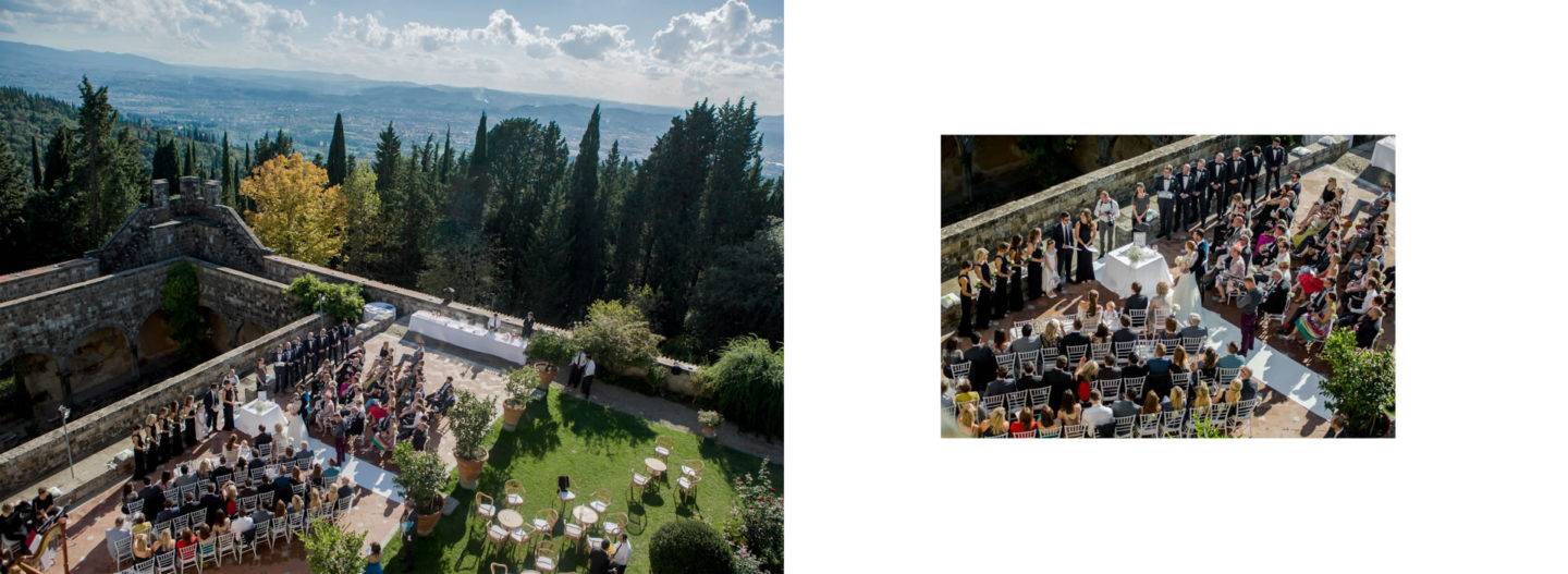 Upper View :: Getting married in Tuscany at Vincigliata Castle :: Luxury wedding photography - 23 :: Upper View