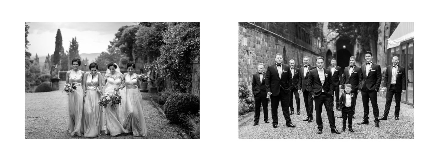 Friends :: Getting married in Tuscany at Vincigliata Castle :: Luxury wedding photography - 25 :: Friends