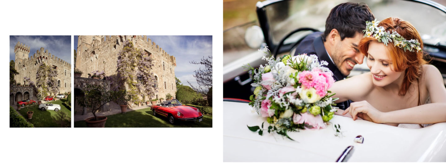 Car :: Getting married in Tuscany at Vincigliata Castle :: Luxury wedding photography - 36 :: Car