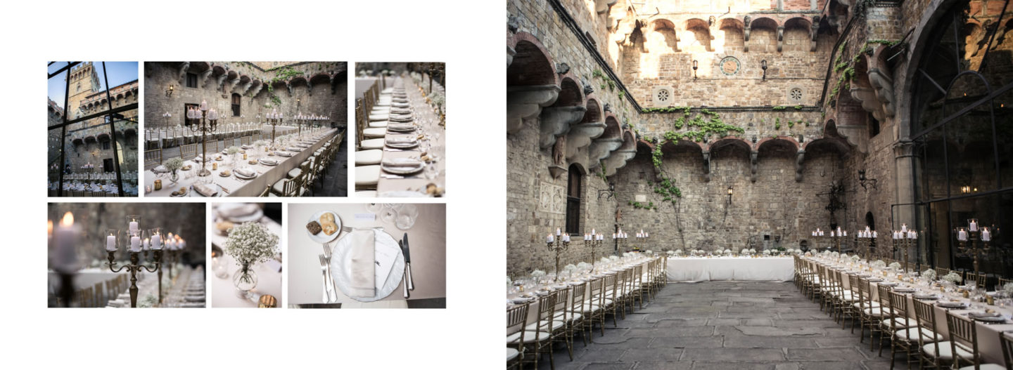 Candles :: Getting married in Tuscany at Vincigliata Castle :: Luxury wedding photography - 53 :: Candles