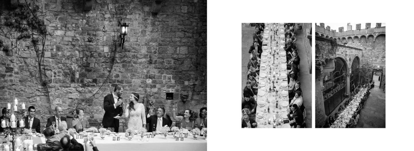 Toast :: Getting married in Tuscany at Vincigliata Castle :: Luxury wedding photography - 55 :: Toast
