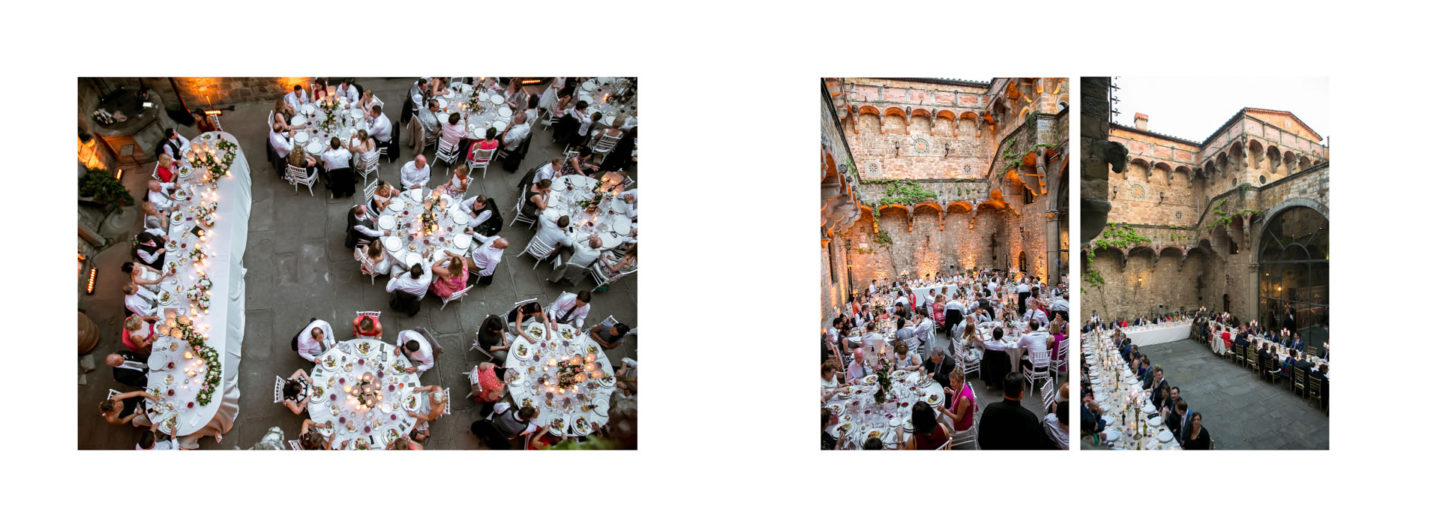 Tables :: Getting married in Tuscany at Vincigliata Castle :: Luxury wedding photography - 57 :: Tables