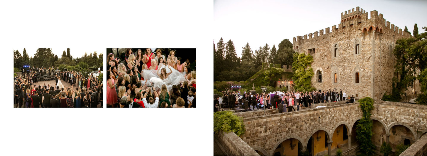 Dances :: Getting married in Tuscany at Vincigliata Castle :: Luxury wedding photography - 58 :: Dances