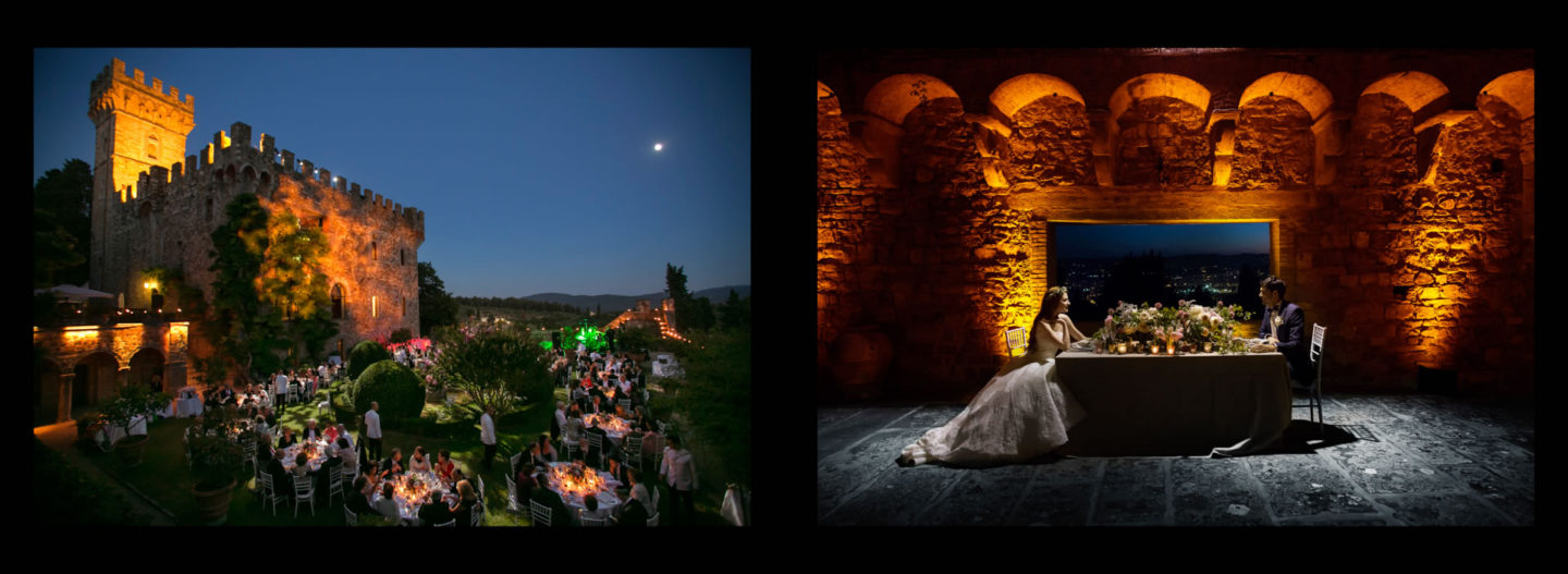 Evening :: Getting married in Tuscany at Vincigliata Castle :: Luxury wedding photography - 67 :: Evening