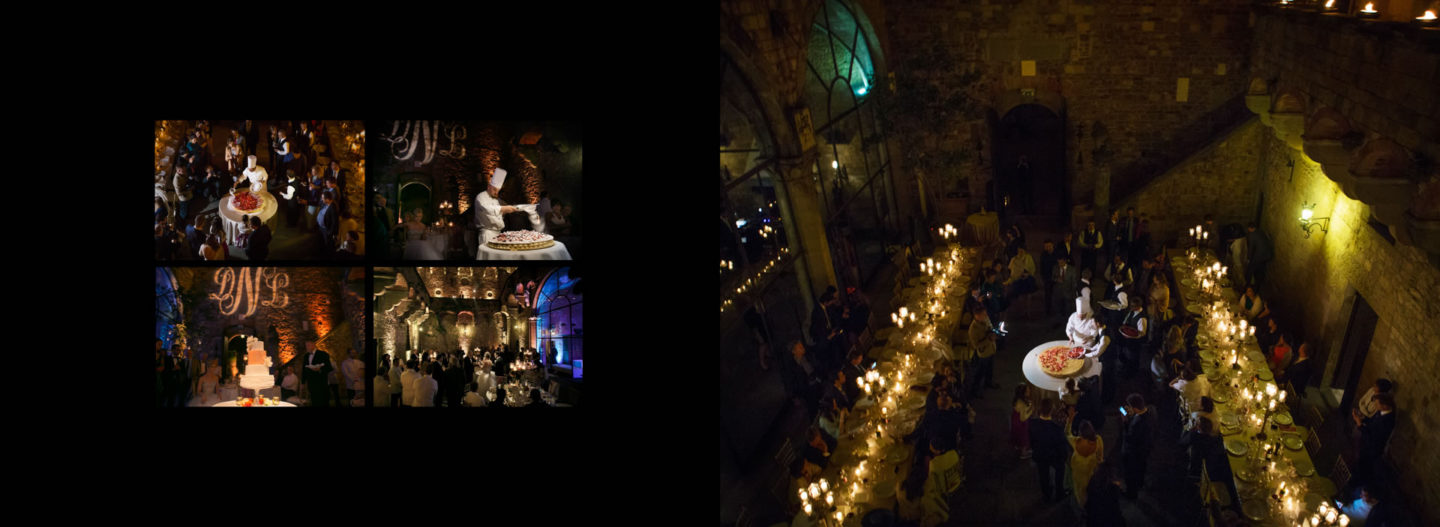 Cake :: Getting married in Tuscany at Vincigliata Castle :: Luxury wedding photography - 71 :: Cake