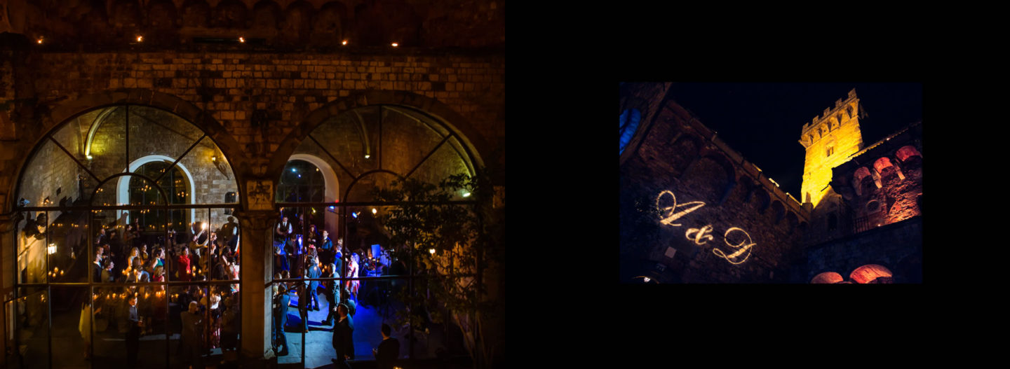 Darkness :: Getting married in Tuscany at Vincigliata Castle :: Luxury wedding photography - 77 :: Darkness