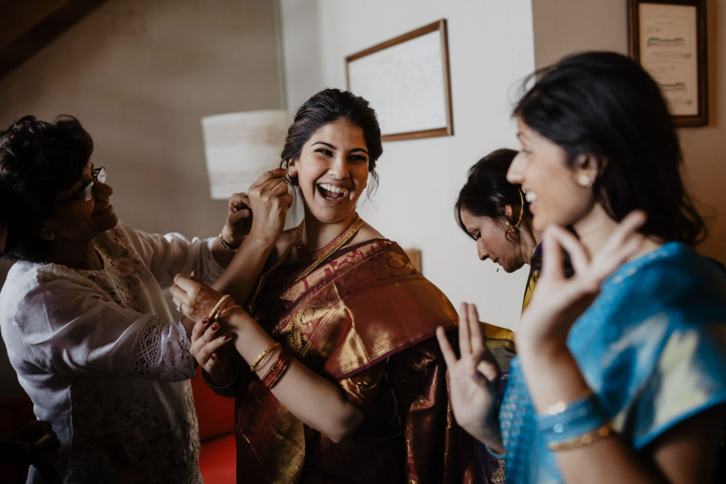 Indian wedding ceremony at Villa Pitiana :: Luxury wedding photography - 0