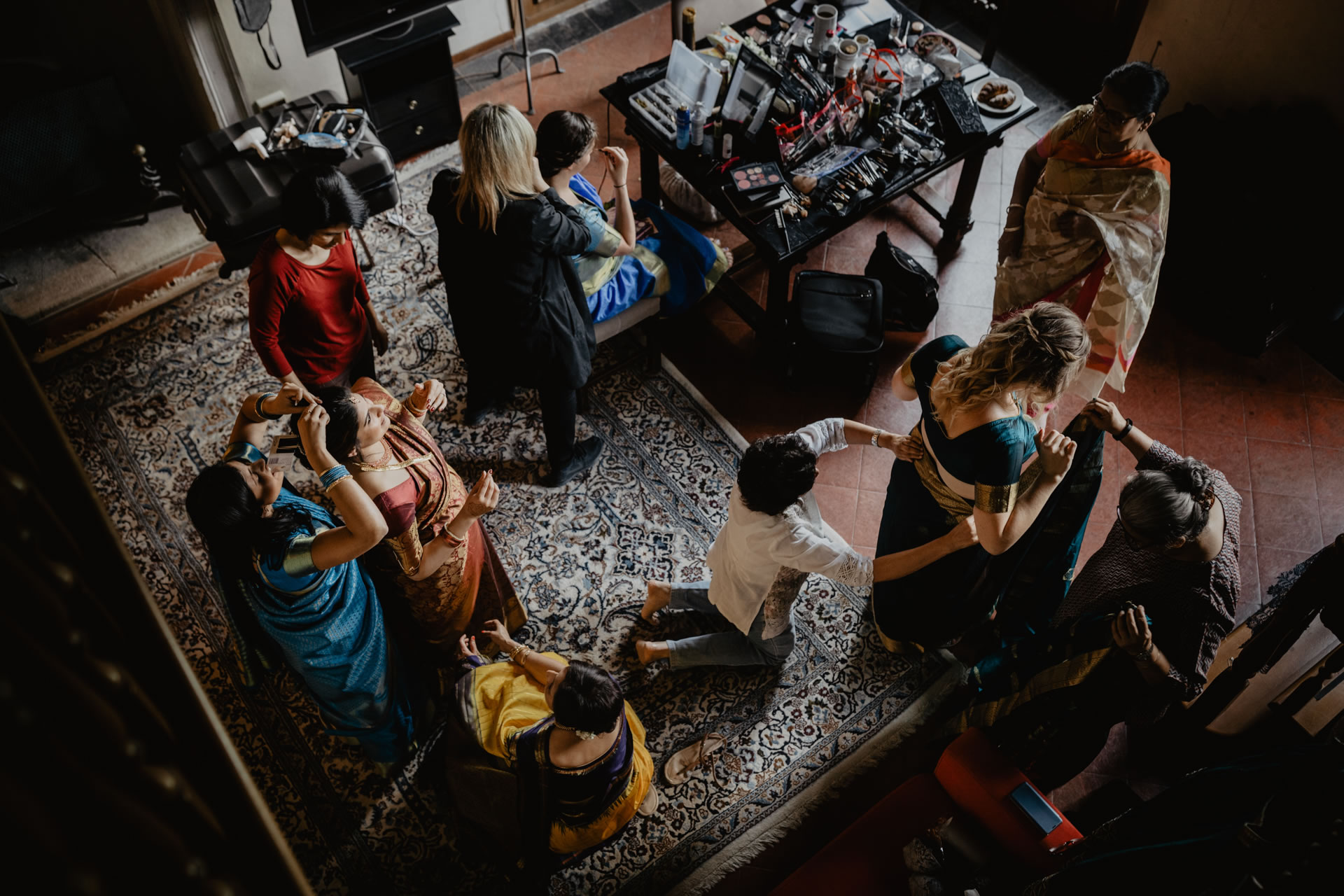 - 2 :: Indian wedding ceremony at Villa Pitiana :: Luxury wedding photography - 1 ::  - 2