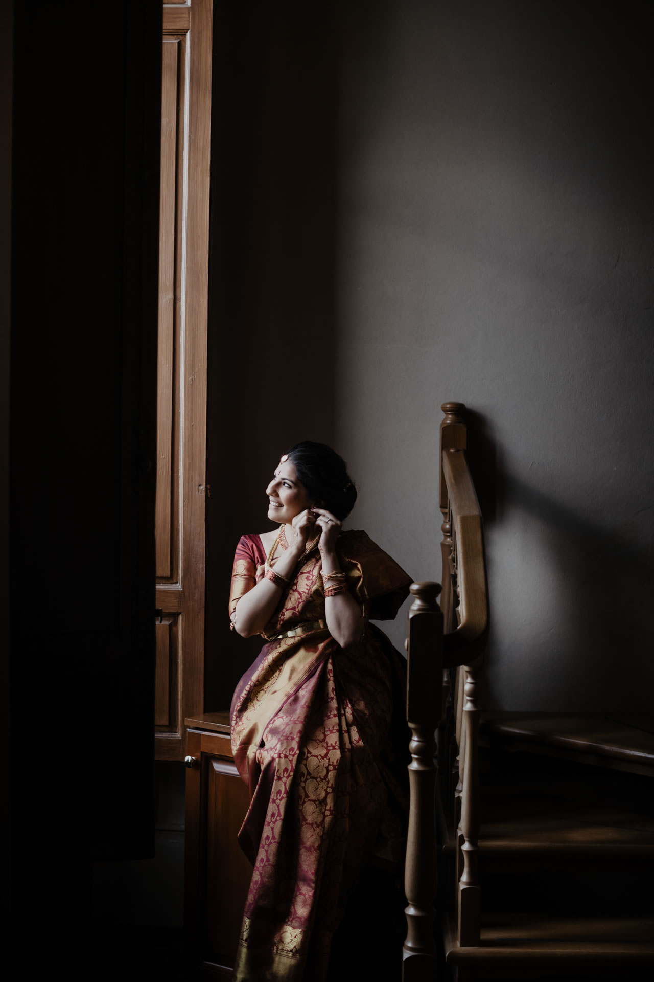 Indian wedding ceremony at Villa Pitiana :: Luxury wedding photography - 3