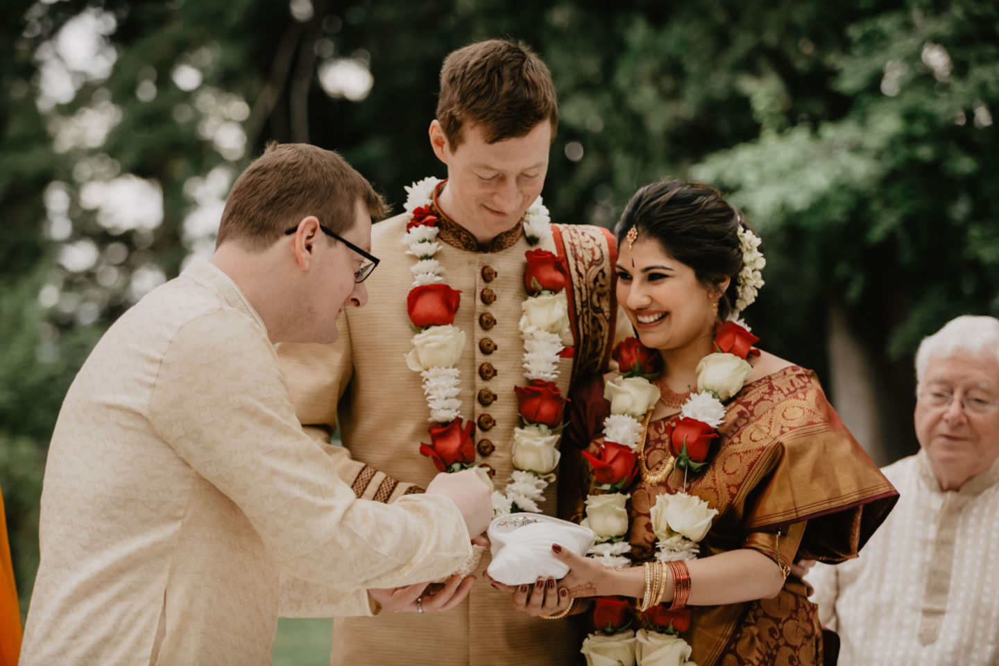 Indian wedding ceremony at Villa Pitiana :: Luxury wedding photography - 19