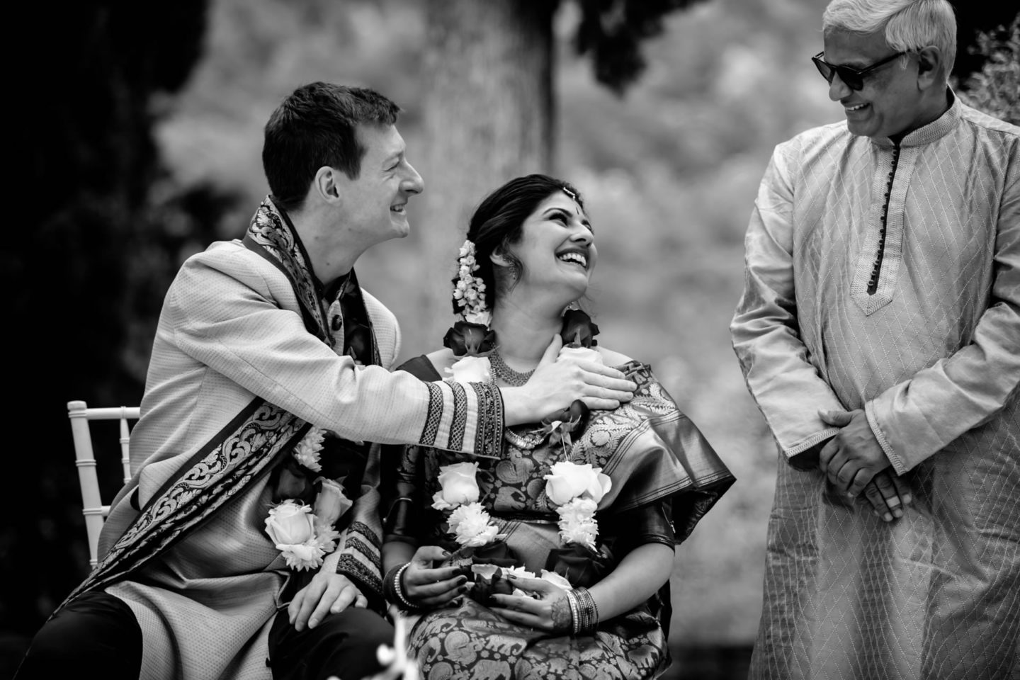 Indian wedding ceremony at Villa Pitiana :: Luxury wedding photography - 20