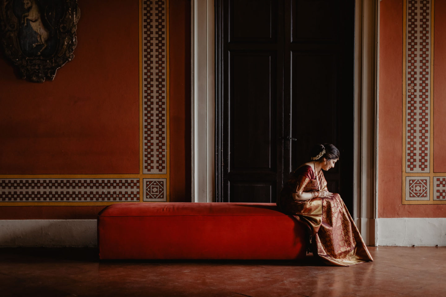 Indian wedding ceremony at Villa Pitiana :: Luxury wedding photography - 27
