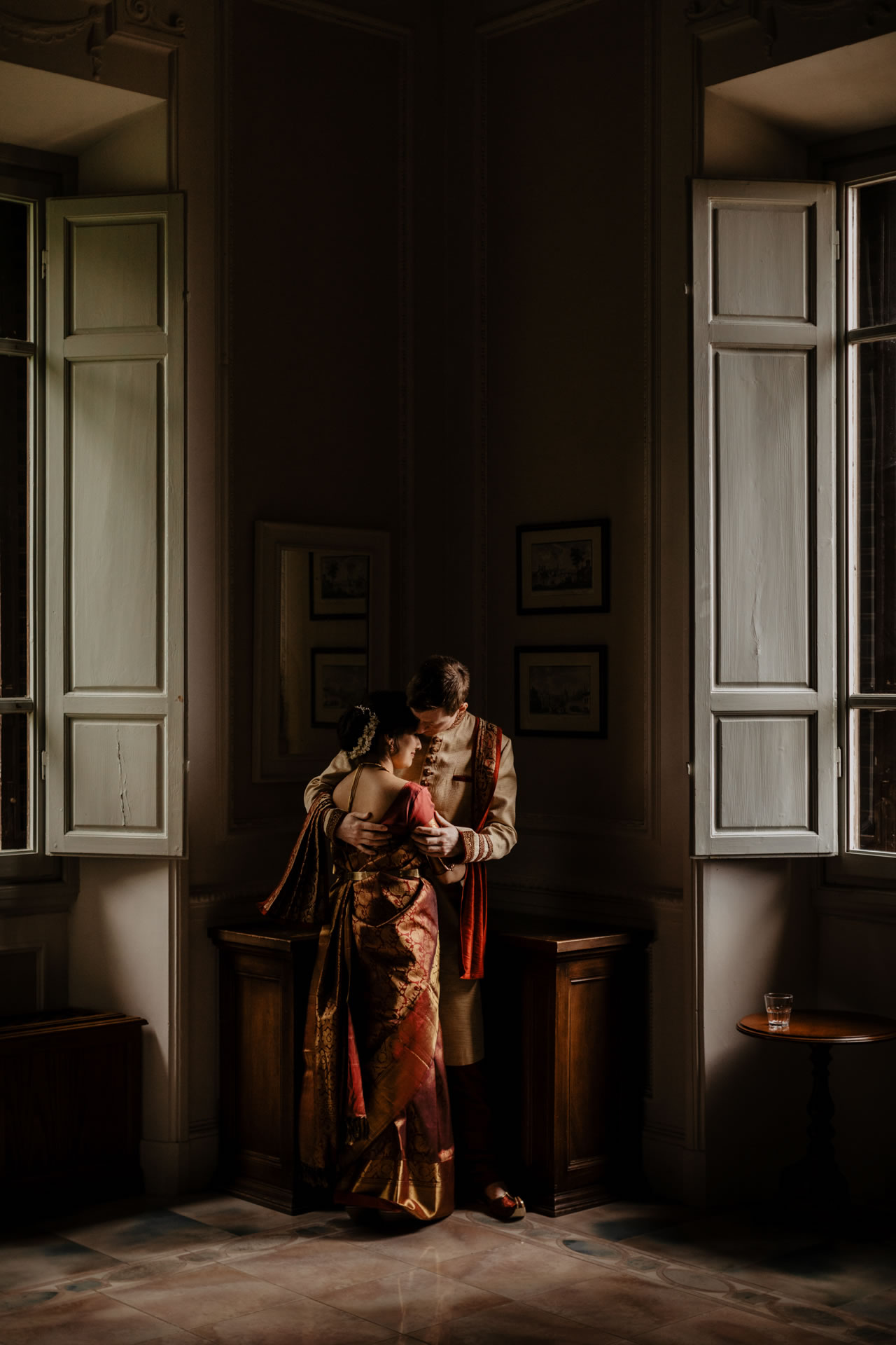 Indian wedding ceremony at Villa Pitiana :: Luxury wedding photography - 30