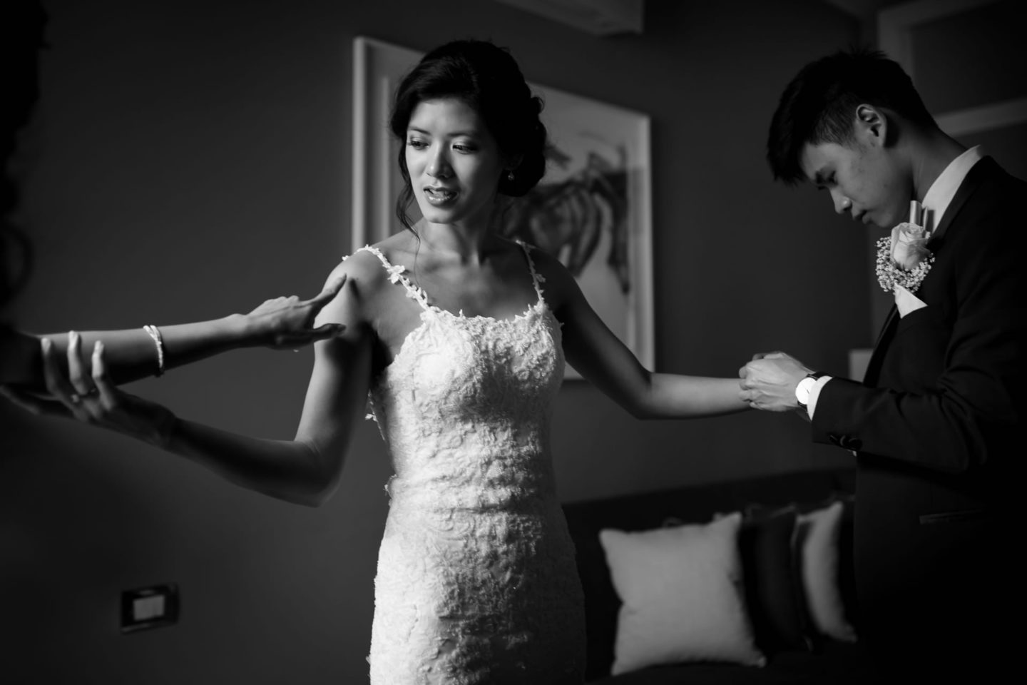 Wedding in Florence at Westin Excelsior :: Luxury wedding photography - 6