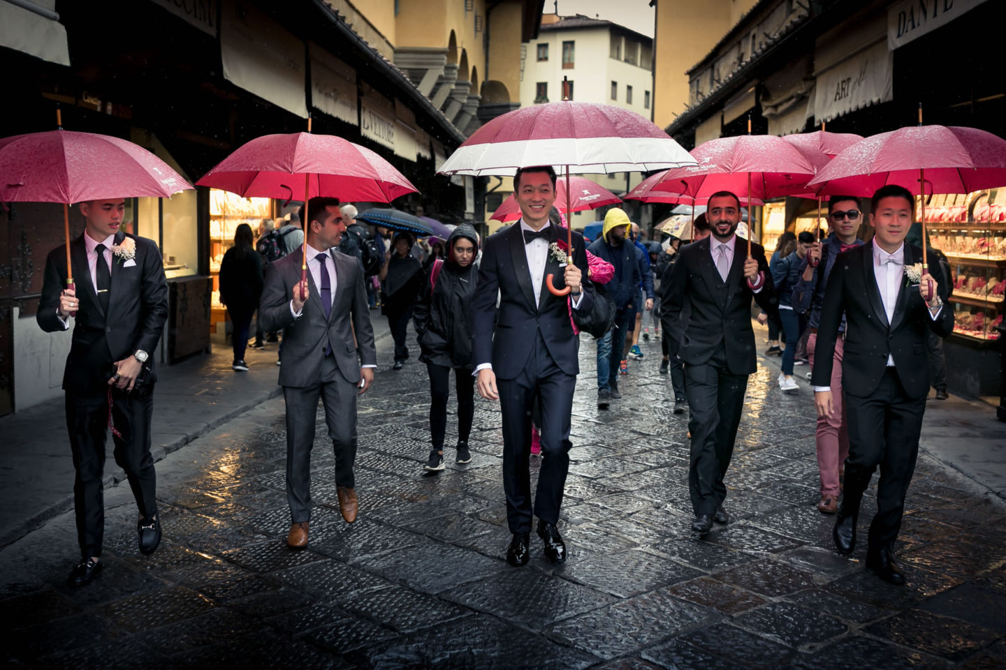 Wedding in Florence at Westin Excelsior :: Luxury wedding photography - 9