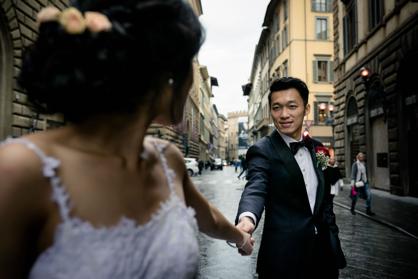 Wedding in Florence at Westin Excelsior :: Luxury wedding photography - 24