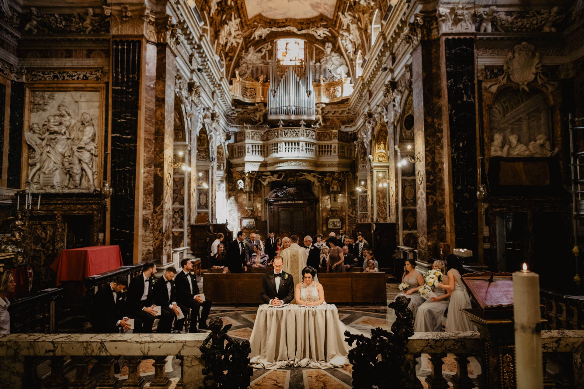 - 21 :: A breath-taking wedding in Rome, the eternal city :: Luxury wedding photography - 20 ::  - 21
