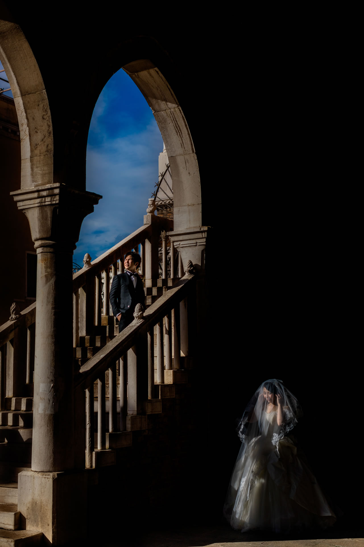 Intimate Wedding in Venice :: Luxury wedding photography - 16