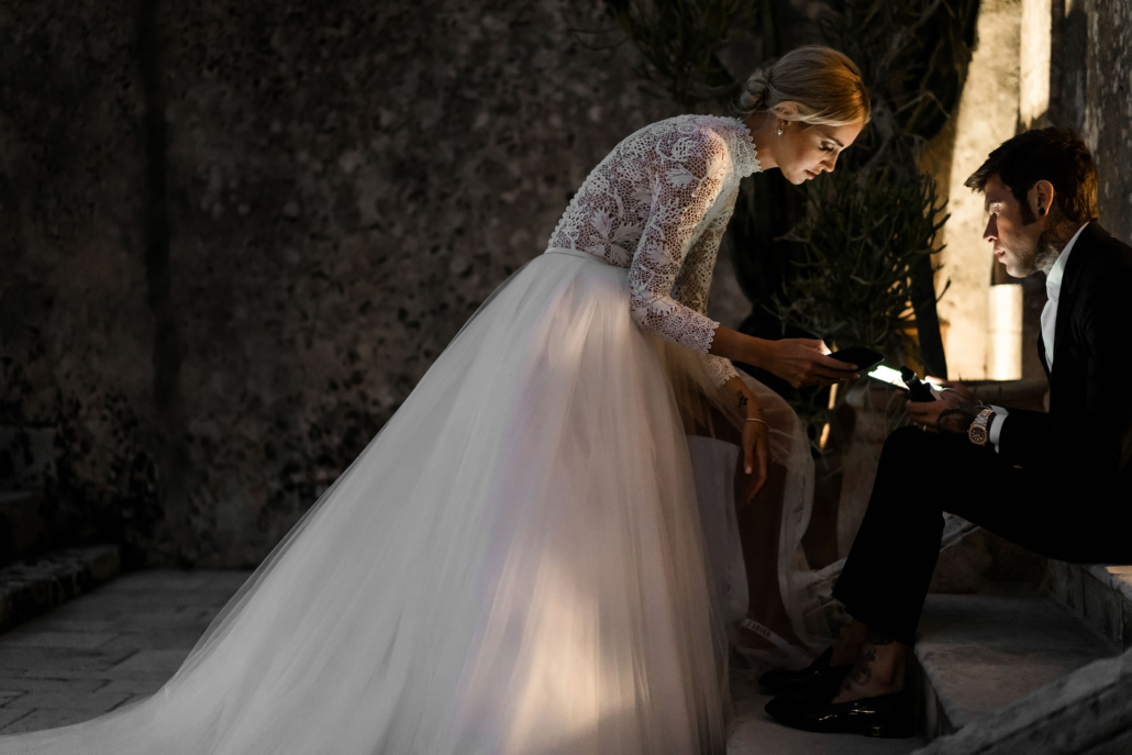 - 21 :: The Ferragnez: between Baroque and Hollywood :: Luxury wedding photography - 20 ::  - 21