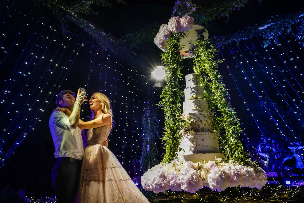 - 25 :: The Ferragnez: between Baroque and Hollywood :: Luxury wedding photography - 24 ::  - 25