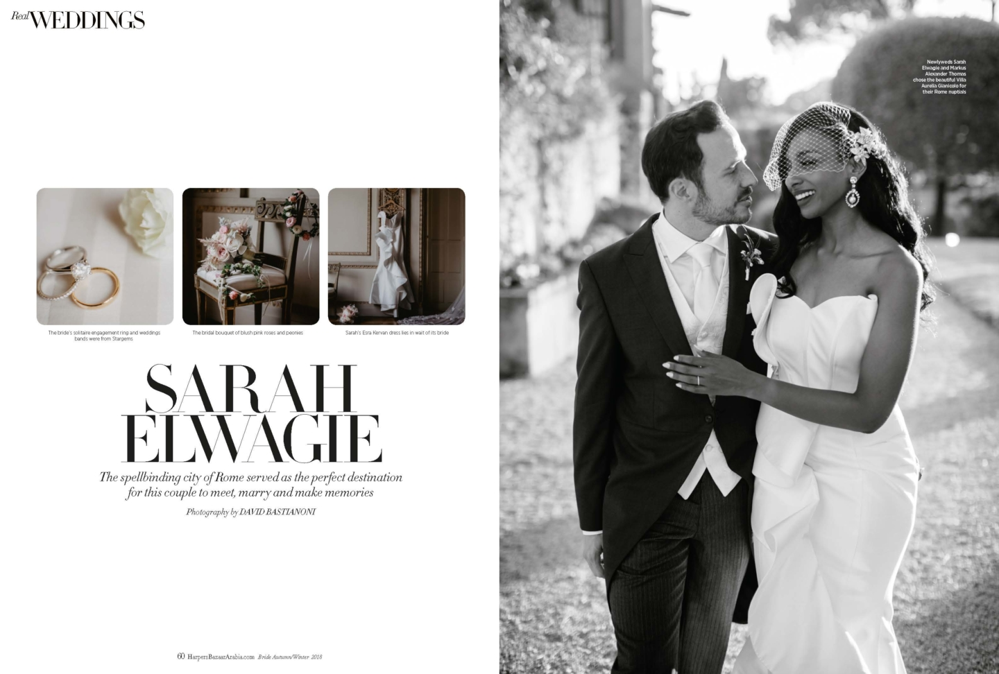 - 1 :: A Love story… from Rome to Harper's Bazaar :: Luxury wedding photography - 0 ::  - 1