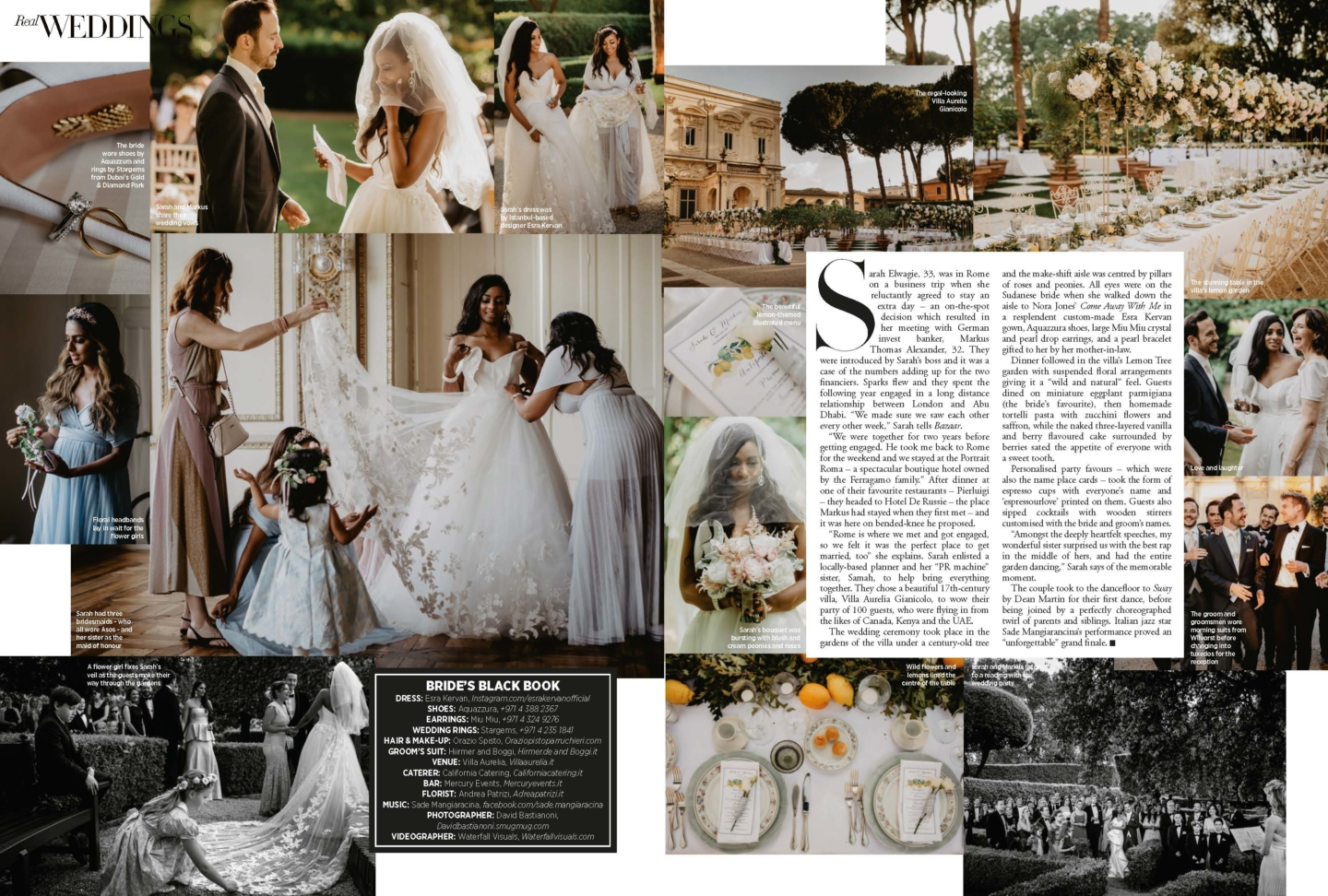 A Love story… from Rome to Harper's Bazaar :: Luxury wedding photography - 1
