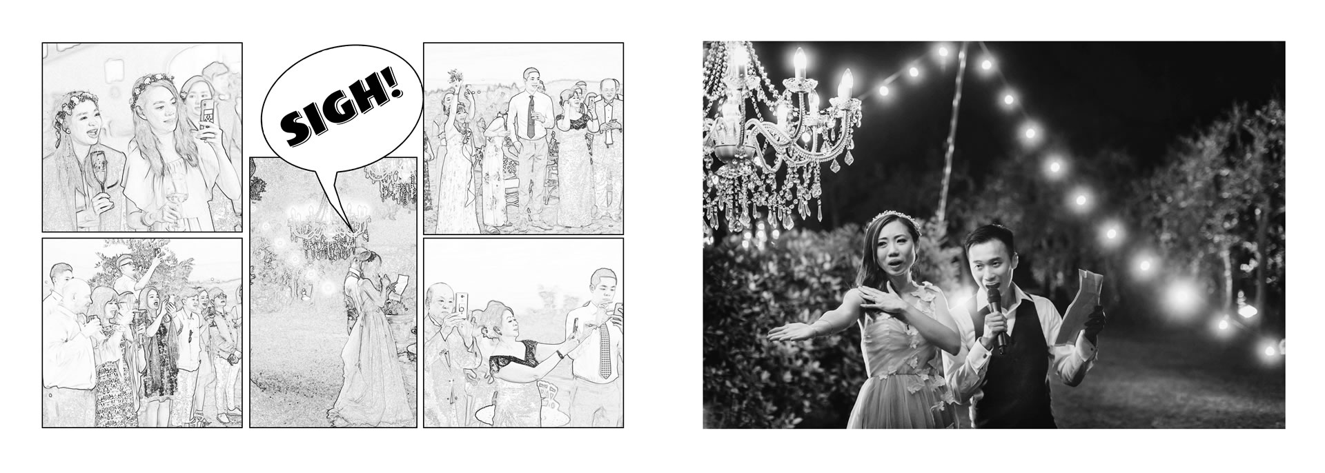 Third place in the  :: He loves picture, she loves manga: we love Las Vegas and WPPI! :: Luxury wedding photography - 36 :: Third place in the
