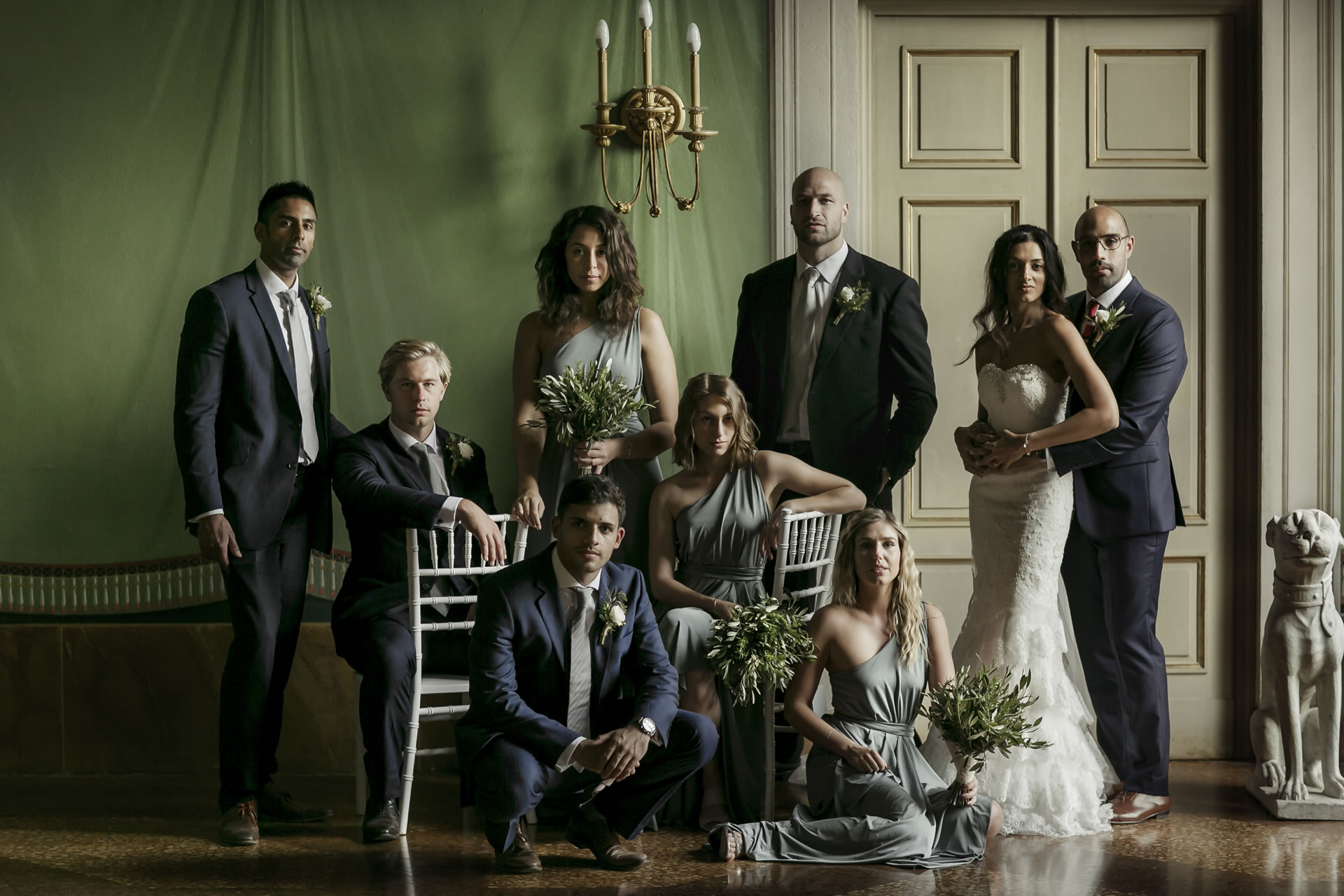 - 14 :: Group's portrait: what remains of that day :: Luxury wedding photography - 13 ::  - 14