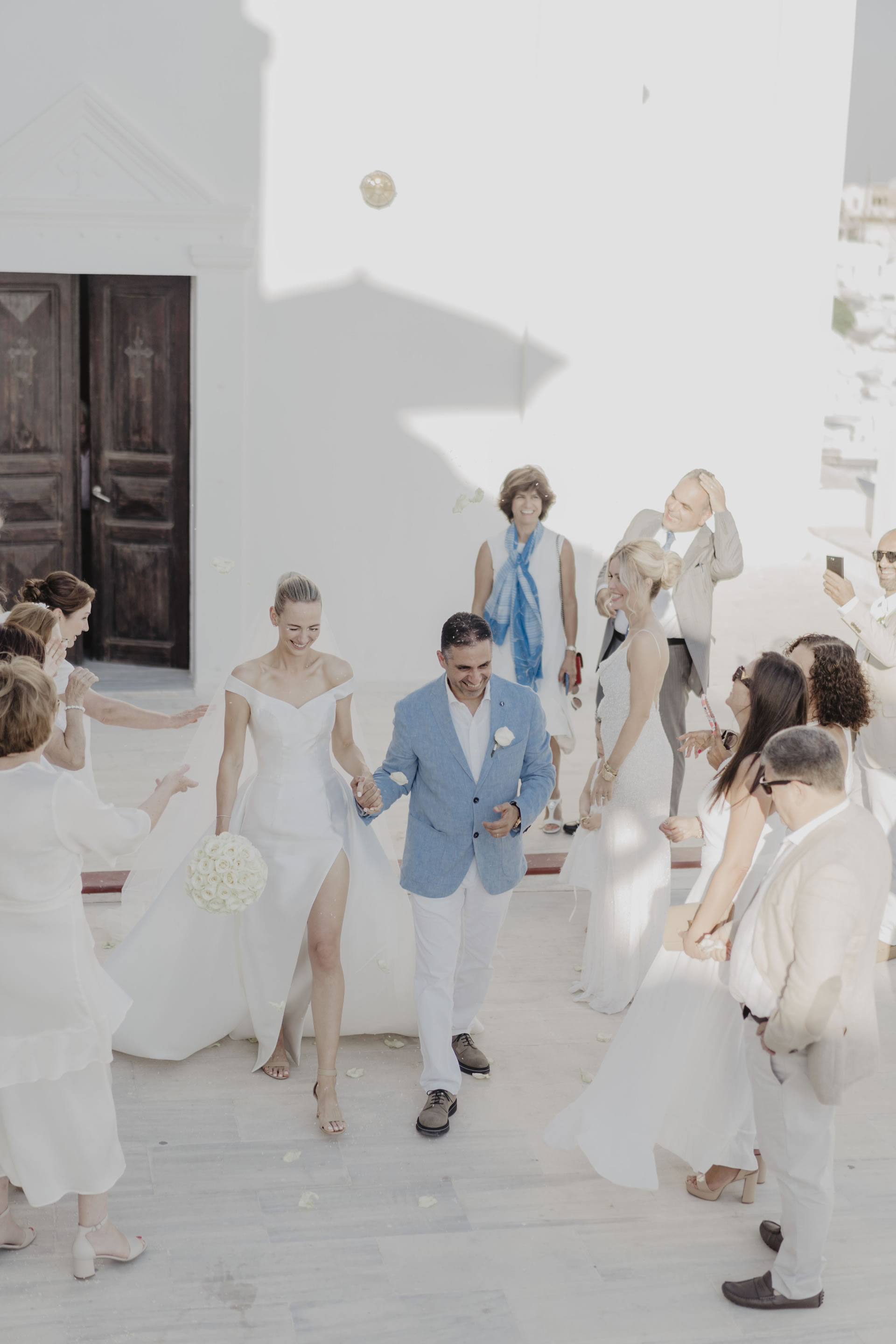 - 33 :: Santorini, a white wedding in a white island :: Luxury wedding photography - 32 ::  - 33