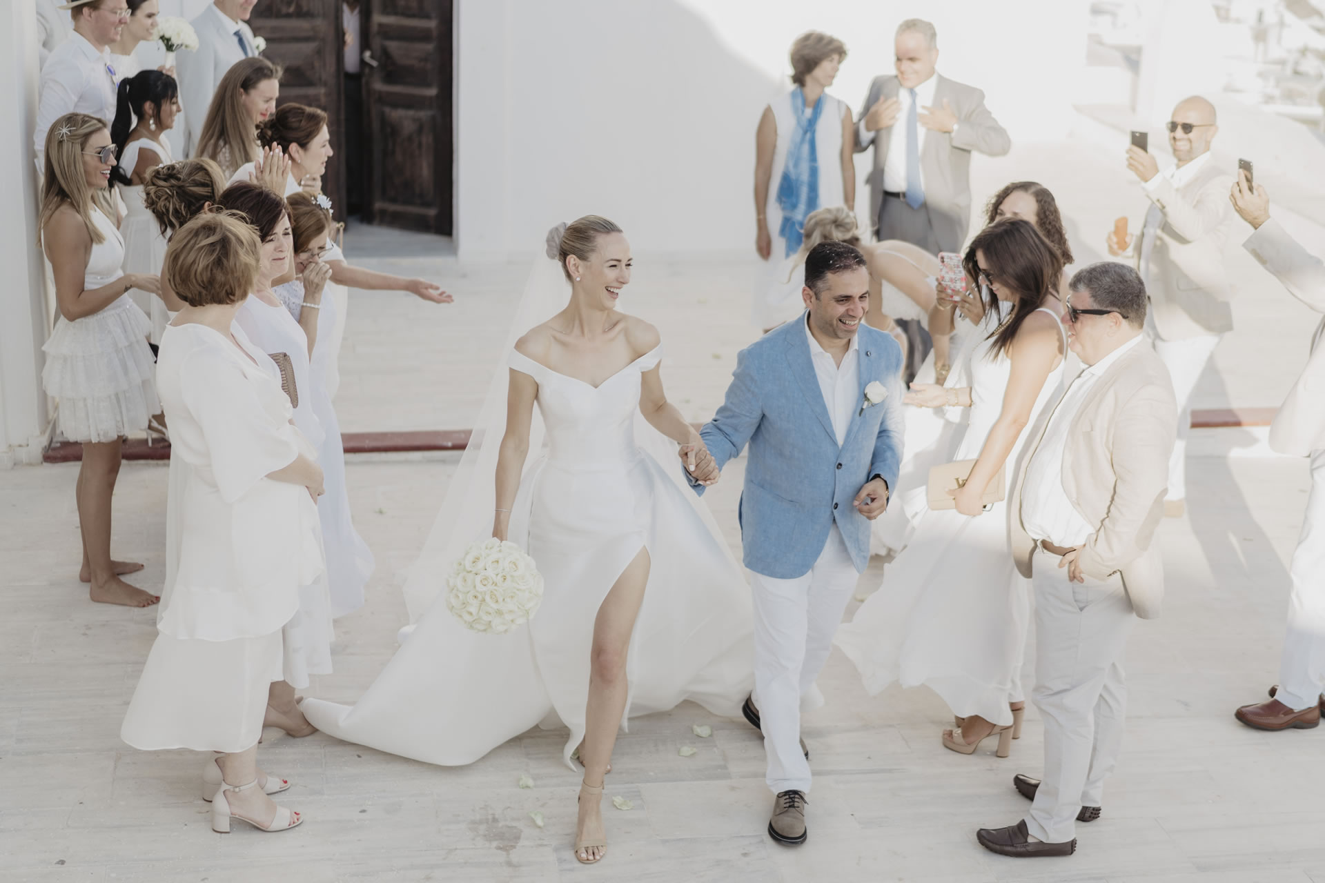 - 35 :: Santorini, a white wedding in a white island :: Luxury wedding photography - 34 ::  - 35