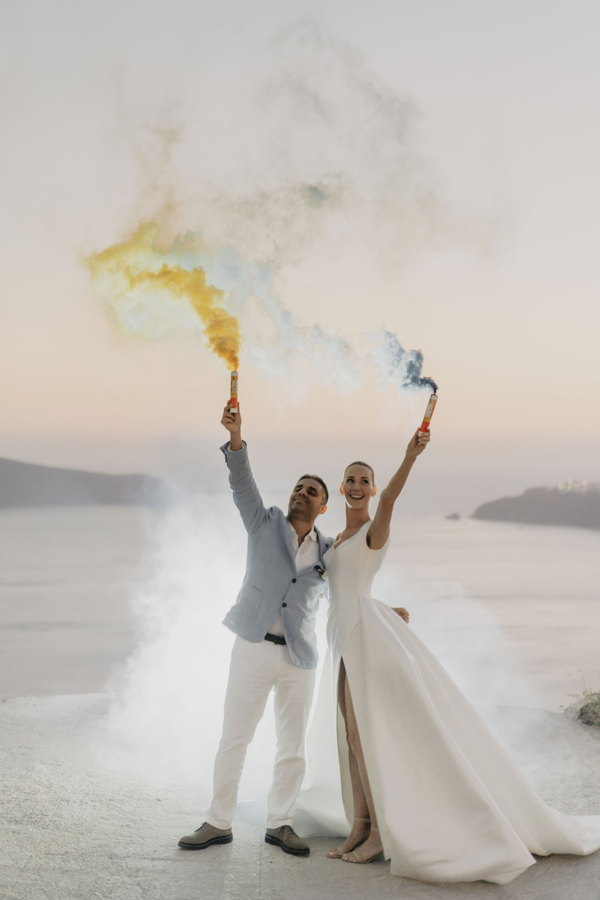 - 52 :: Santorini, a white wedding in a white island :: Luxury wedding photography - 51 ::  - 52