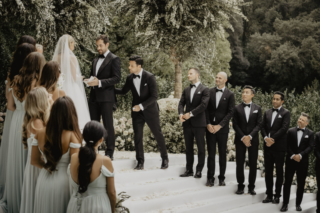 A sparkling wedding on the shore of the Arno :: 39