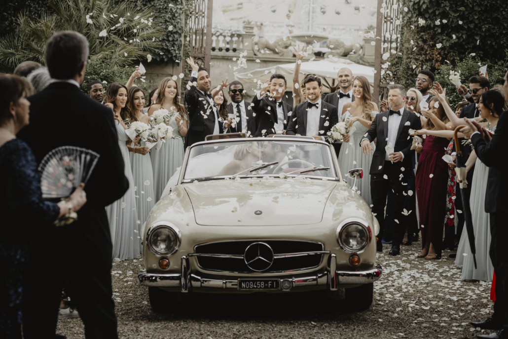 A sparkling wedding on the shore of the Arno :: 46