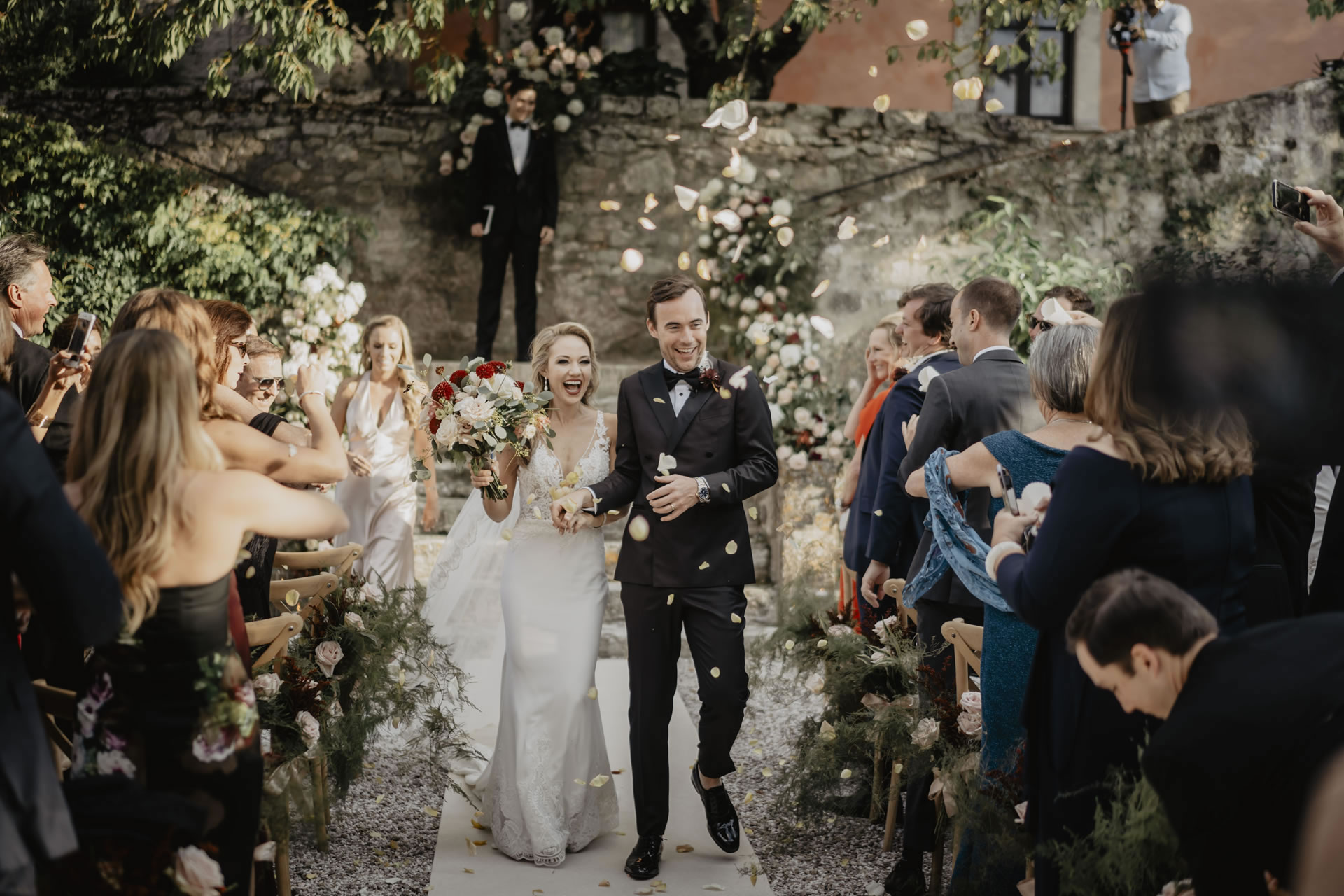 - 32 :: A bride's smile (Wedding in Tuscany) :: Luxury wedding photography - 31 ::  - 32