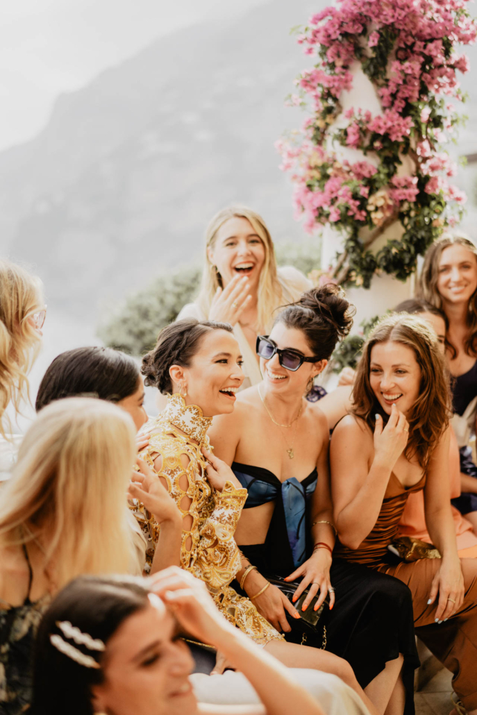 Wave upon wave: a shimmering wedding in Positano :: 21