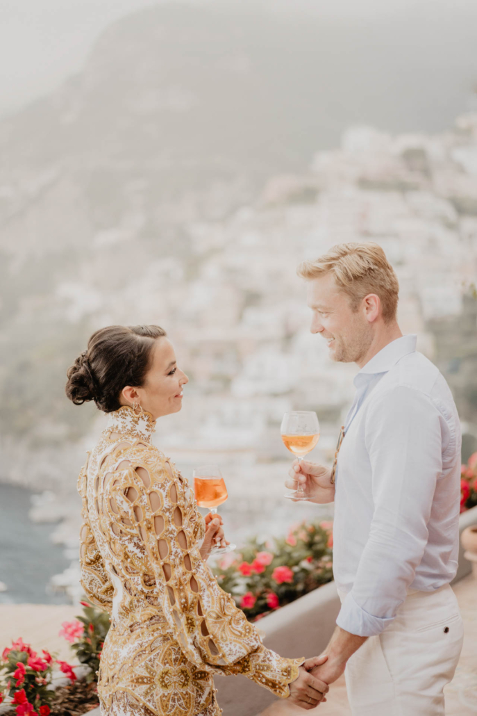 Wave upon wave: a shimmering wedding in Positano :: 24