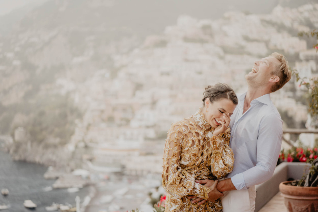 Wave upon wave: a shimmering wedding in Positano :: 25