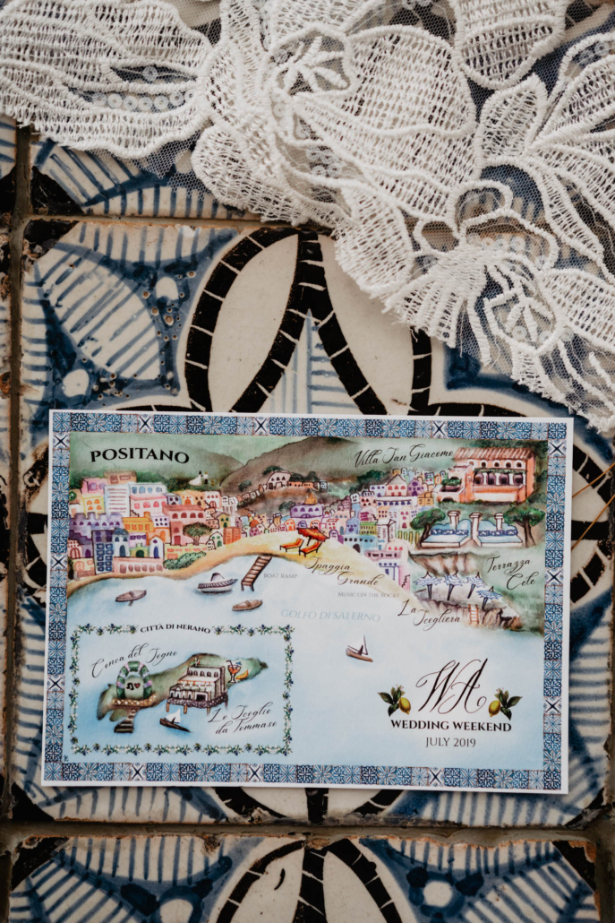 Wave upon wave: a shimmering wedding in Positano :: 60