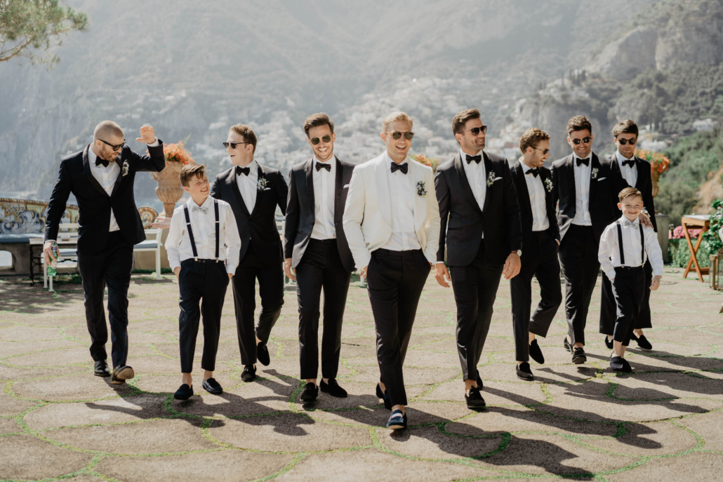 Wave upon wave: a shimmering wedding in Positano :: 64