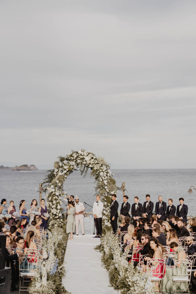 Wave upon wave: a shimmering wedding in Positano :: 71