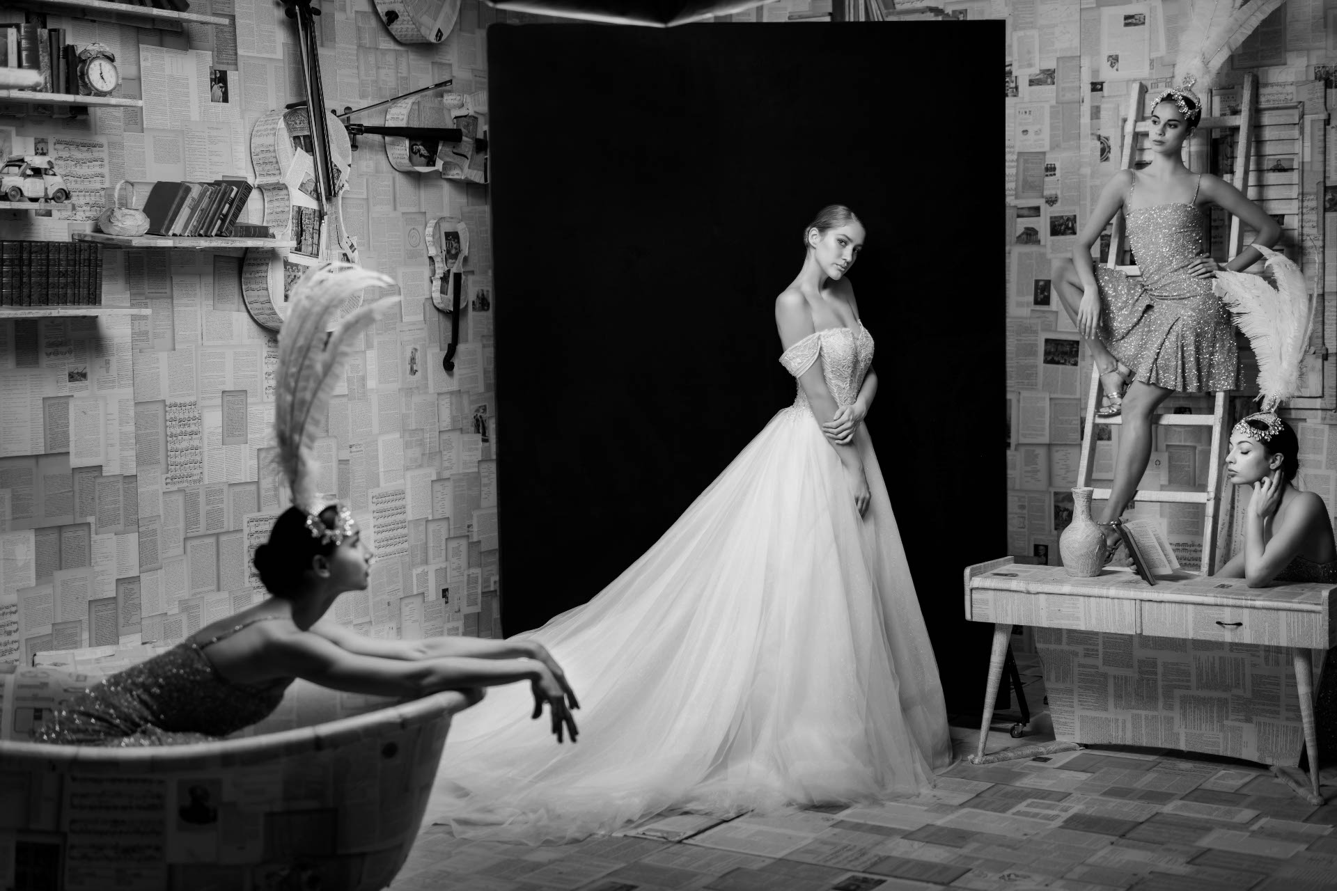 - 11 :: The white issue: the essence of a bride :: Luxury wedding photography - 10 ::  - 11