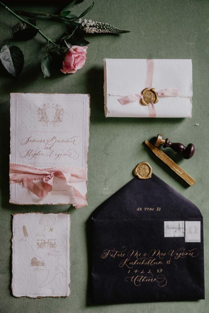 A wedding at Stomennano, blending fashion and drama :: 13