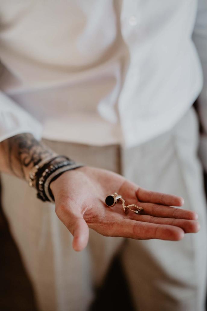 A wedding at Stomennano, blending fashion and drama :: 23
